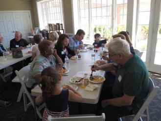 Good food and fellowship