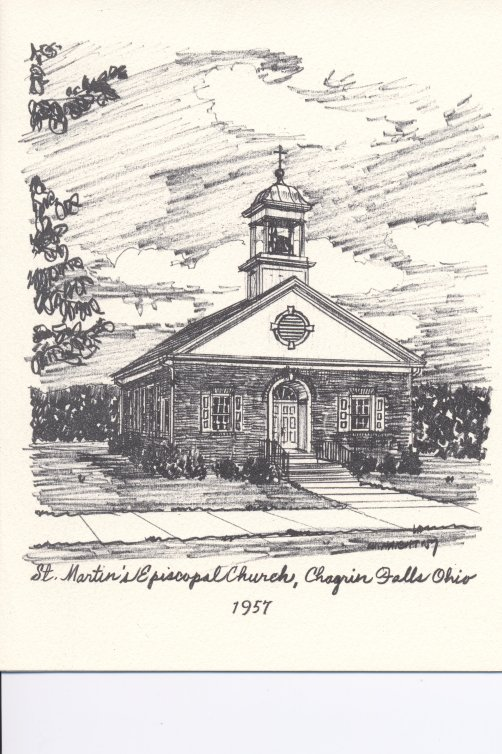 St. Martins 1957 Drawing