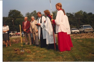 St. Martins Education Wing Ground Breaking